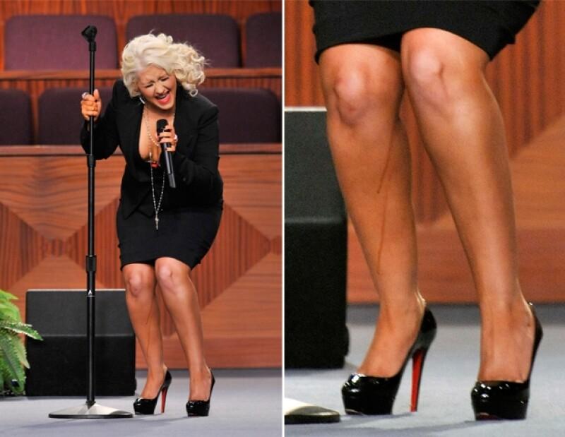 Uno de los accidentes más penosos de la farándula lo protagonizó Christina Aguilera.