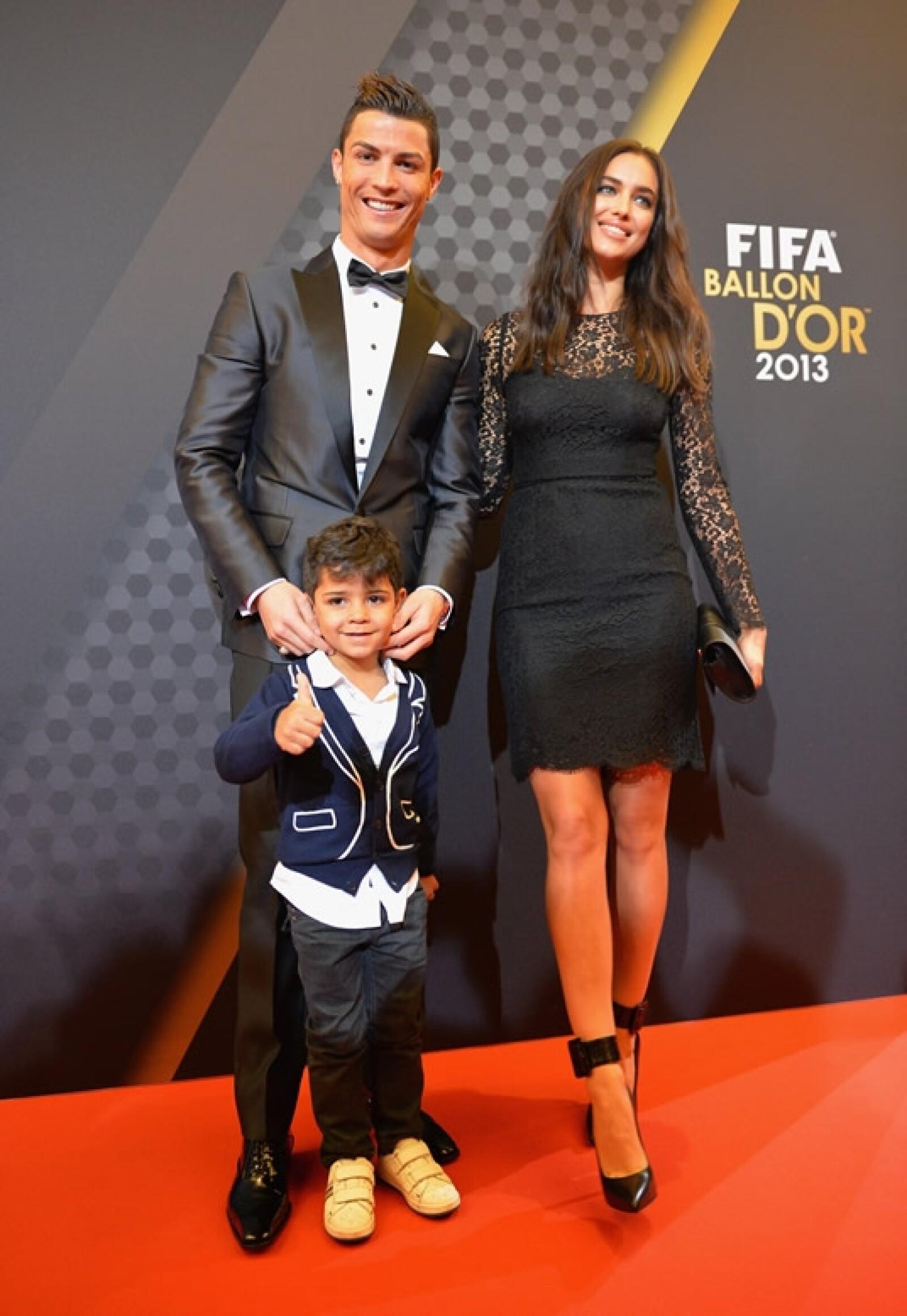 Balón de Oro Ronaldo-Shayk