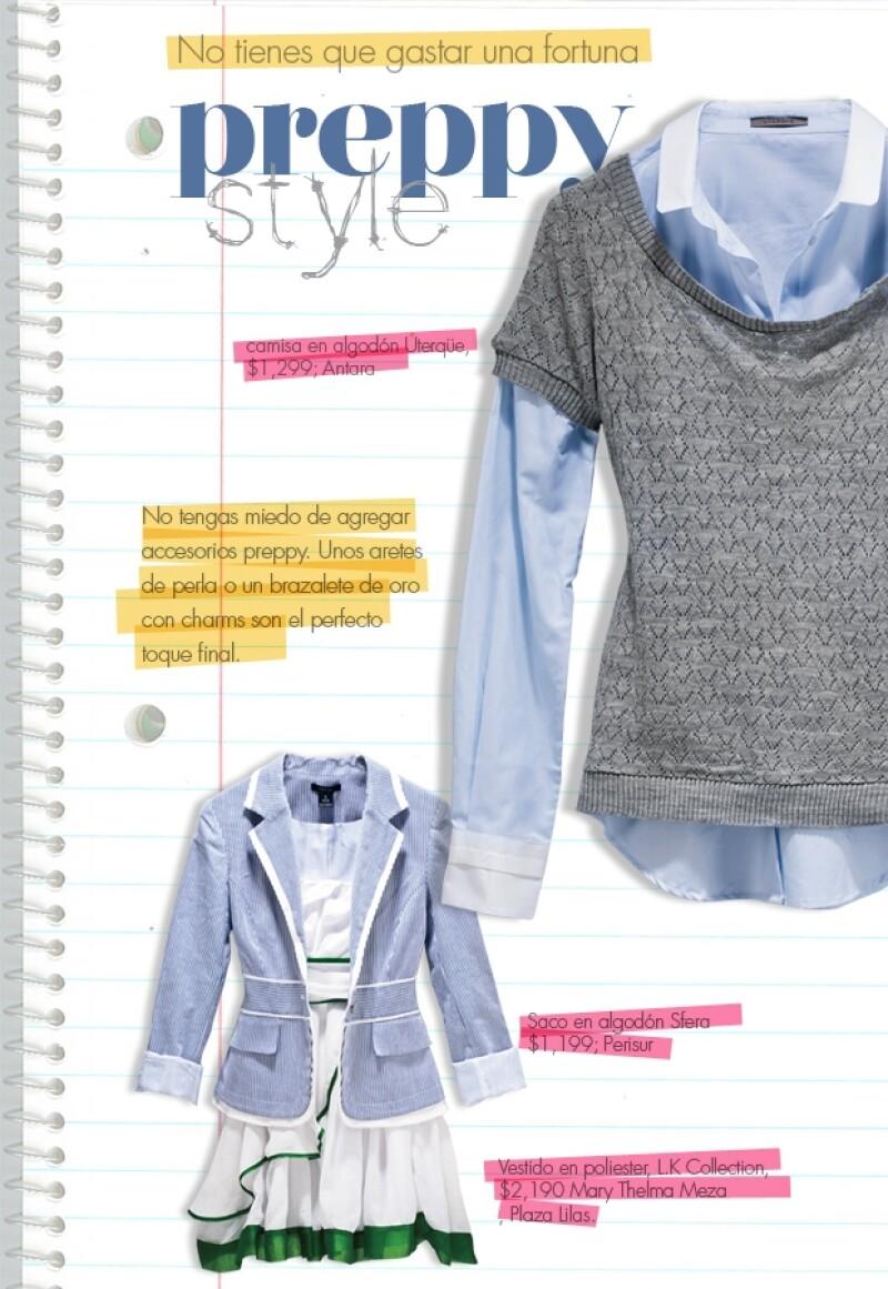 El estilo es ideal para presumirse en este regreso a clases.