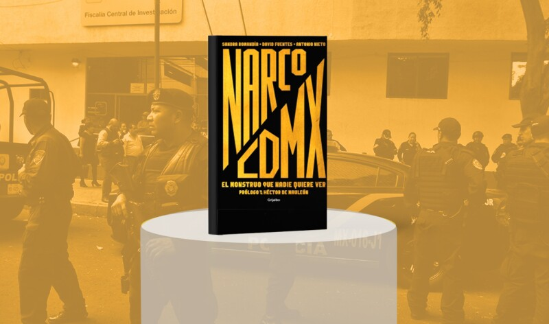 Narco en CDMX es más grande de lo que quisiéramos saber: Romandía