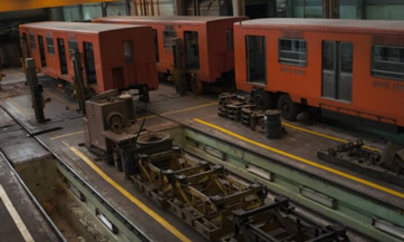 Se adquirirán 12 trenes la Línea 12, informó Joel Ortega. (Foto: Cuartoscuro)