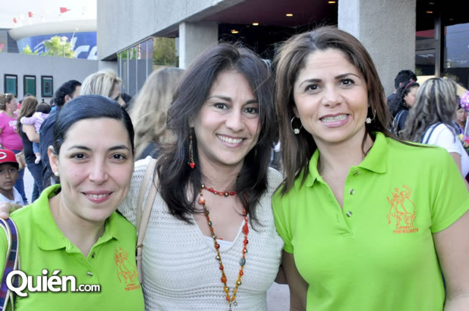 Janeth Urdiales, Lizbeth Gutiérrez y Alma Manjarrez