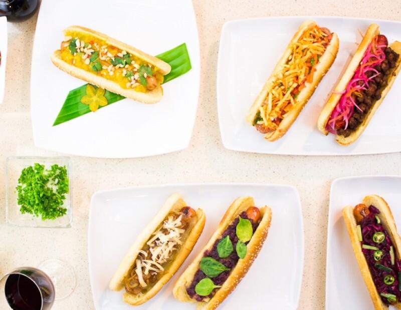 Tres reconocidos chefs crearon cinco recetas originales, que serán vendidas en diferentes puntos de la ciudad.