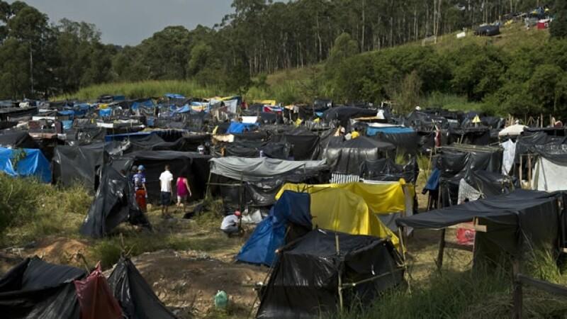 La favela de Sao Paulo que contrasta con los gastos millonarios para la realización del Mundial de Brasil 2014