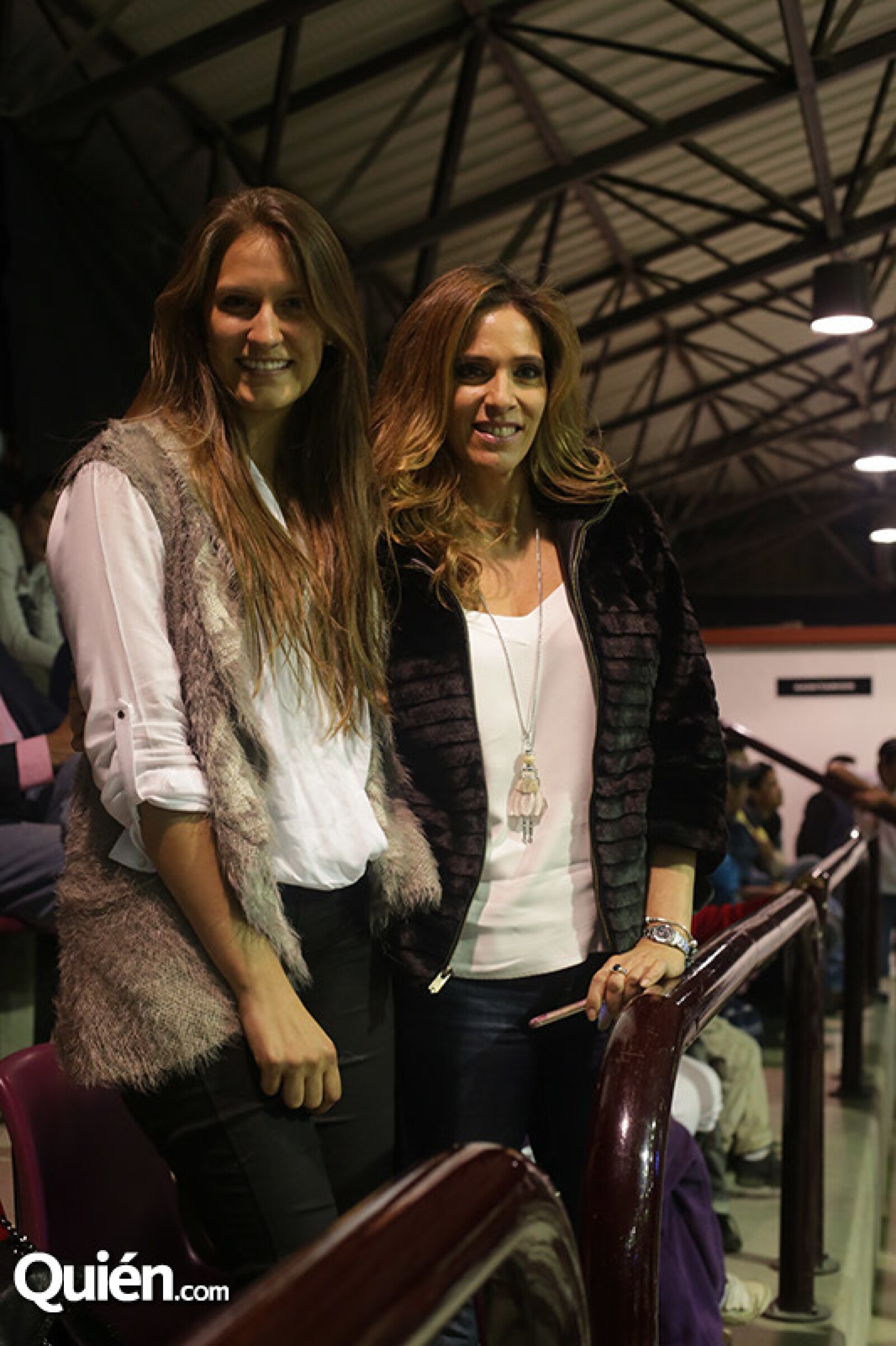 Ana Paula Cámara y Andrea Webber