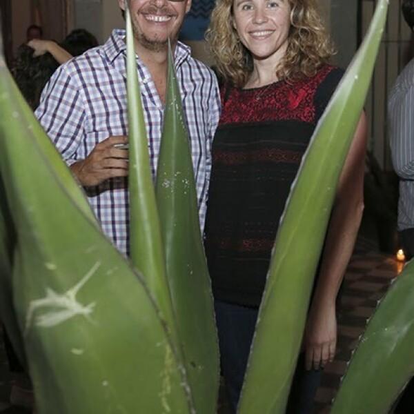 Gerardo Álvarez y Paola Desentis