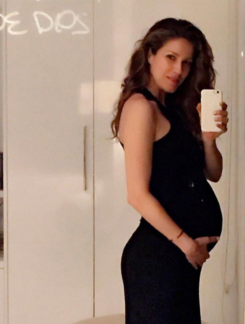 Jaydy espera su primer hijo con Rafa Márquez.
