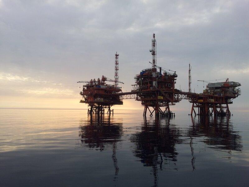 Plataforma petrolera ENI