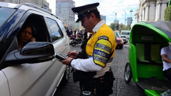 El Gobierno de la Ciudad de México reportó reducción de 14% de los choques. (Foto: Cuartoscuro )
