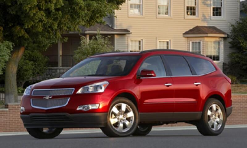 El Chevrolet Traverse es uno de los modelos que será revisado por la compañía. (Foto: tomada de General Motors)