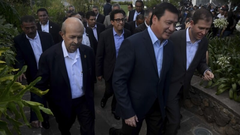 El secretario de Gobernación Miguel Ángel Osorio Chong Michoacán