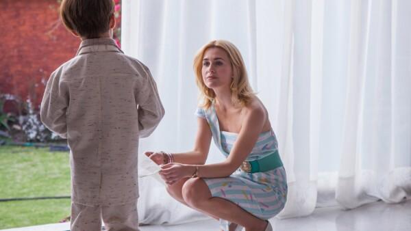 Anna Favella en el papel de Marcela Basteri.
