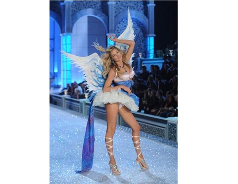 Doutzen Kroes es uno de los llamados Ángeles de Victoria Secret.