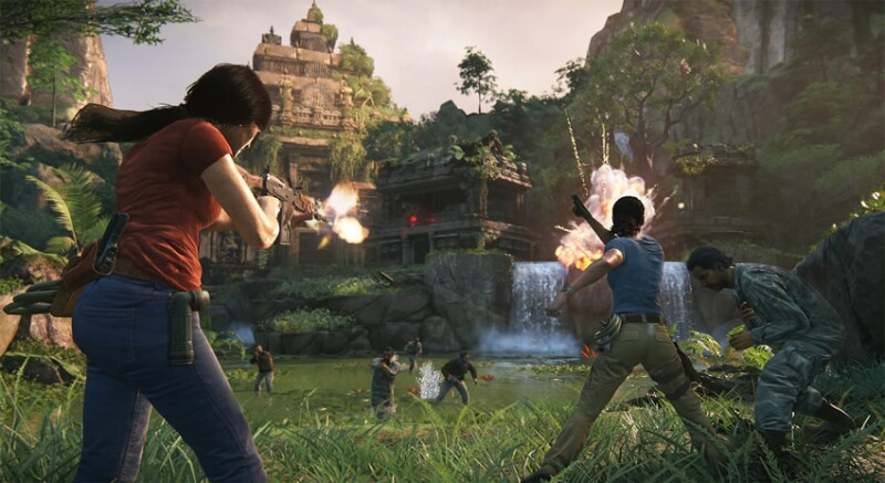 Uncharted: The Lost Legacy.