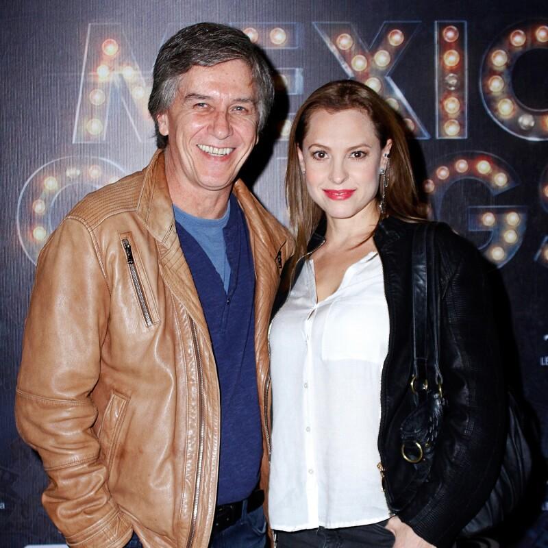 Marina de Tavira med charmig, Pojkvän Rafael Sánchez Navarro
