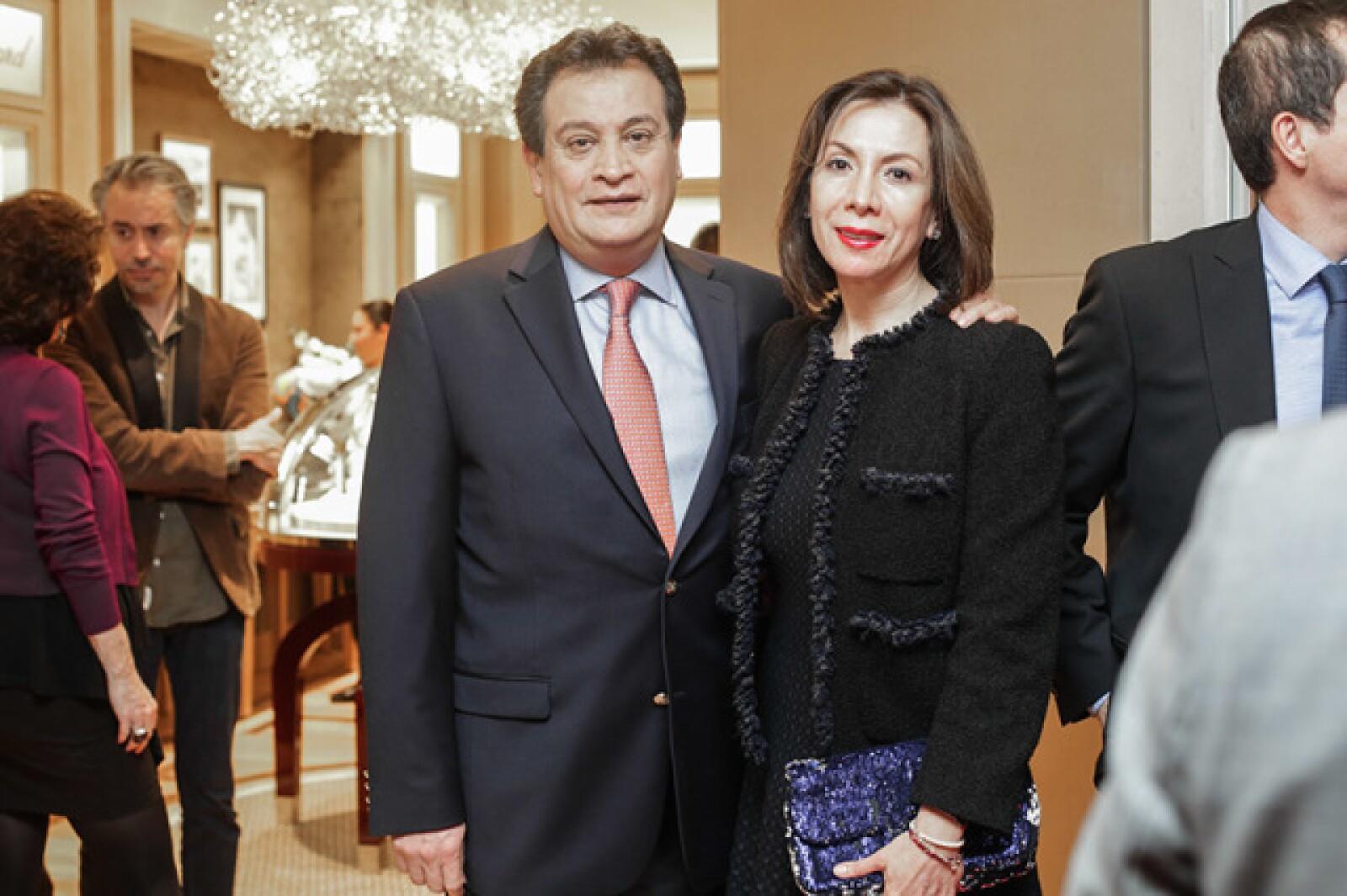 Claudio Castroparedes e Iris Cuevas