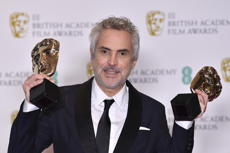 BRITAIN-ENTERTAINMENT-FILM-AWARDS-BAFTA cuaron