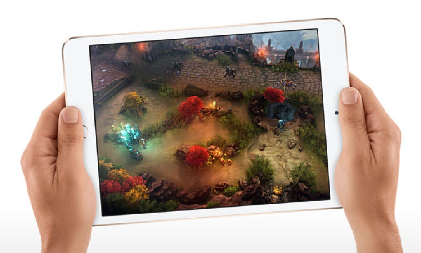 La tableta cuenta con un chip A7 con arquitectura de 64 bits, lo que le permite un alto rendimiento sin sacrificar batería.