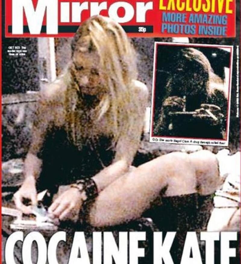 Kate es íntima amiga del diseñador John Galliano.