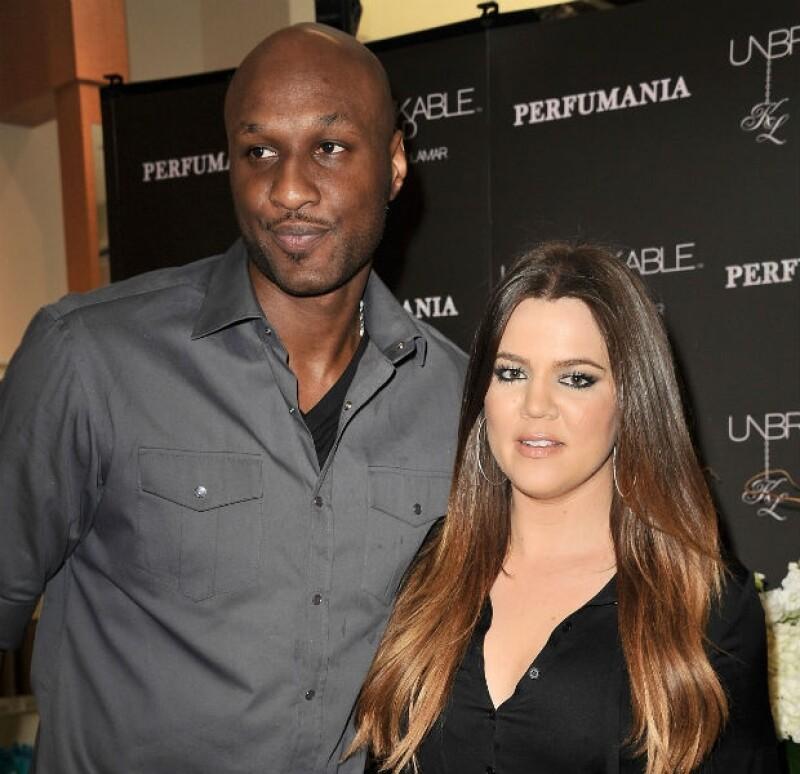 Fue en diciembre del año pasado cuando Khloé pidió el divorcio de Lamar.