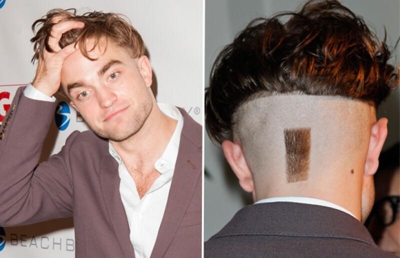 Pattinson lució este extraño corte, ¿te gusta?