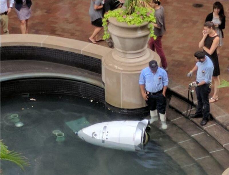 Robot ahogada