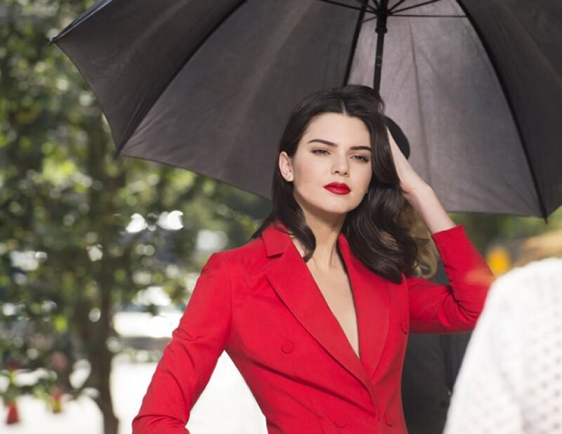 """""""Es un gran momento en mi carrera y es algo que siempre he querido hacer"""", acerca de su campaña con el perfume Modern Muse Le Rouge."""