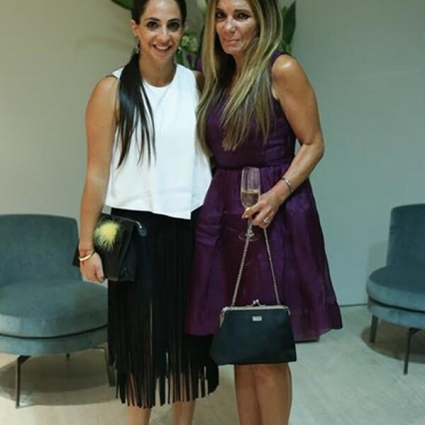 Daniela Levy y Sima Buzali