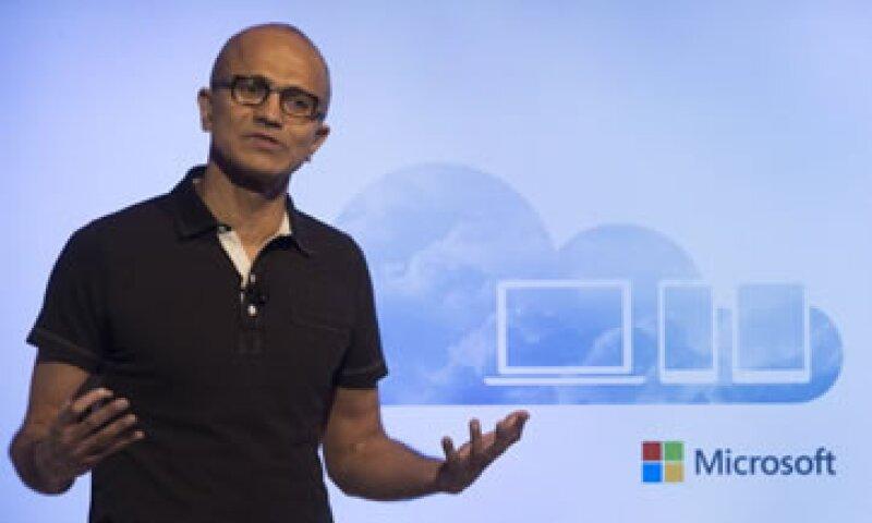 Satya Nadella apostaría por los grandes datos, los sistemas en la nube o multiplataformas. (Foto: Getty Images)