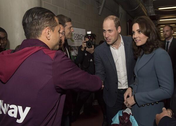'Chicharito' Hernández y príncipe William