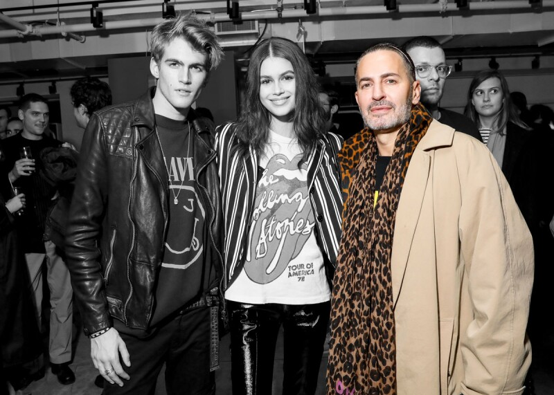 Marc Jacobs Redux Grunge Collection launch, New York, USA - 03 Dec 2018