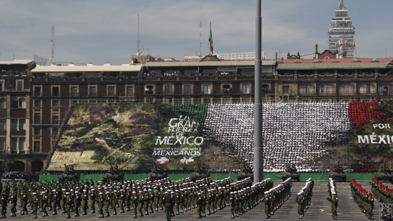 desfile, revolucion, mexico, festejo