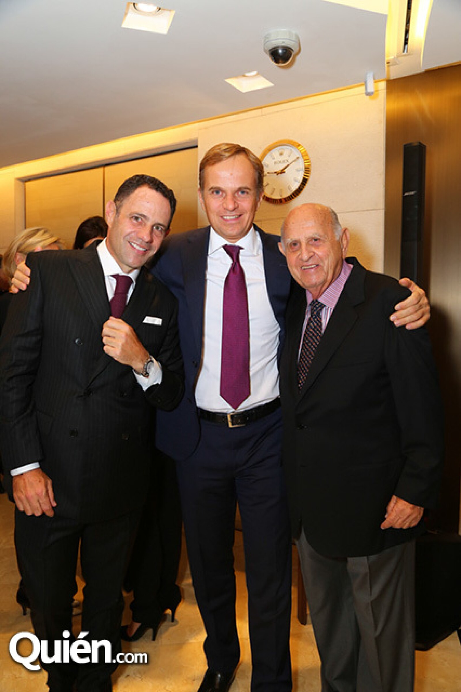 Sergio Berger,Jean Frederic Dufour y Maurice Berger