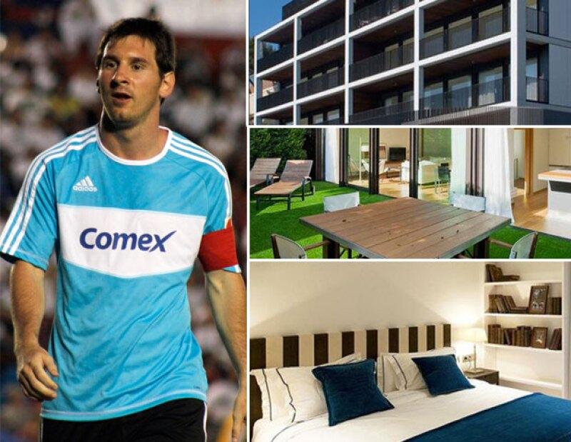 El futbolista acaba de adquirir una propiedad en la zona exclusiva de Pedralbes, ahí tanto él como su novia Antonella pretender formar un hogar.