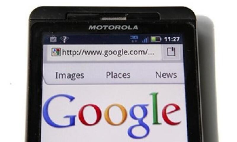 Google espera aprovechar las más de 17,000 patentes que tiene Motorola Mobility. (Foto: AP)