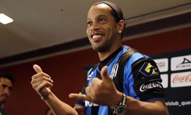El brasileño fue presentado la semana pasada con el Querétaro. (Foto: Reuters)