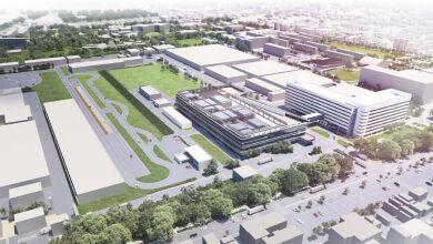 Vista aérea del Bridgestone Innovation Park / Tokio
