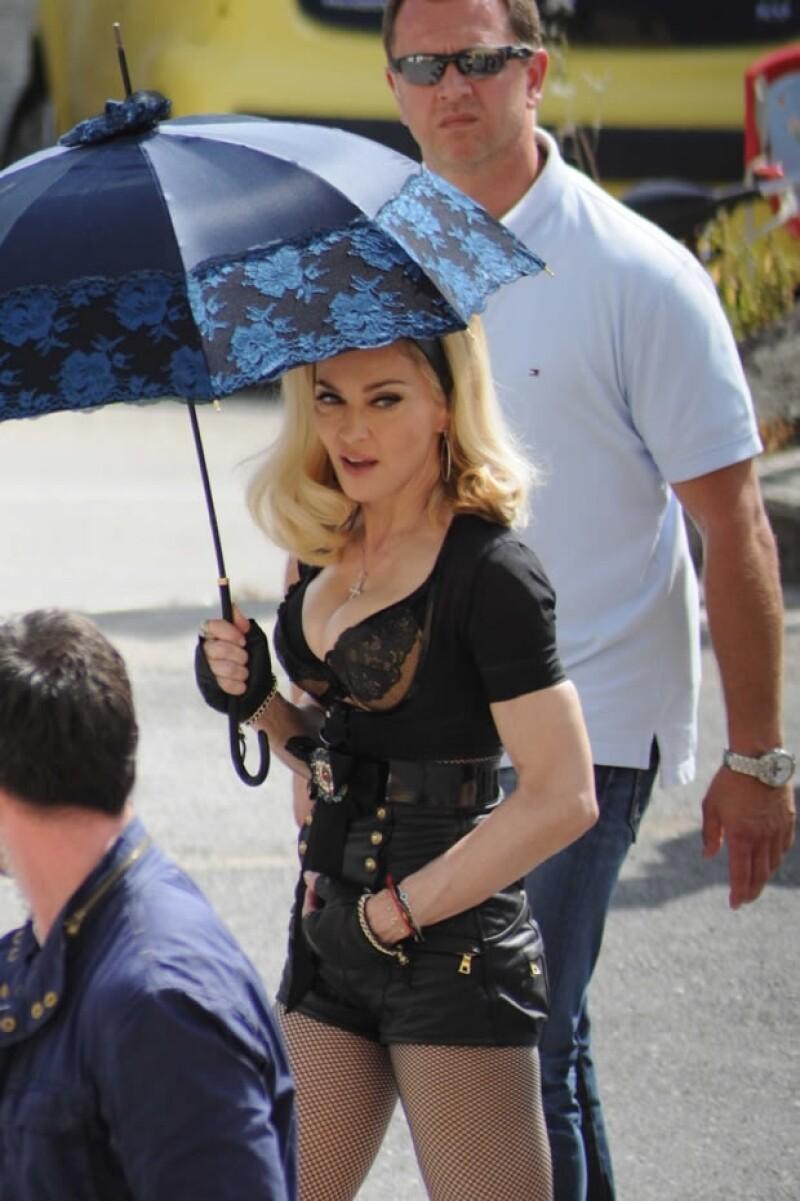 Madonna viajará este miércoles a Barcelona para continuar su gira.