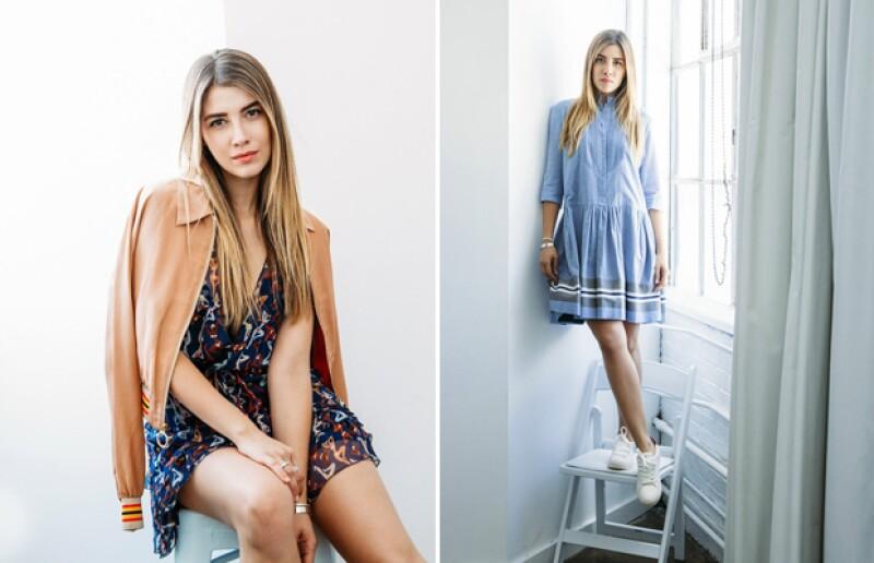 Michelle comparte imágenes de sus looks en su blog Stereotype Mess.