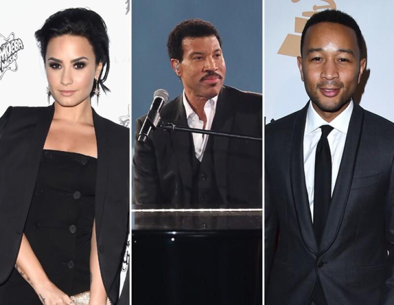 Demi Lovato, John Legend y más serán los encargados del homenaje a Lionel Richie.