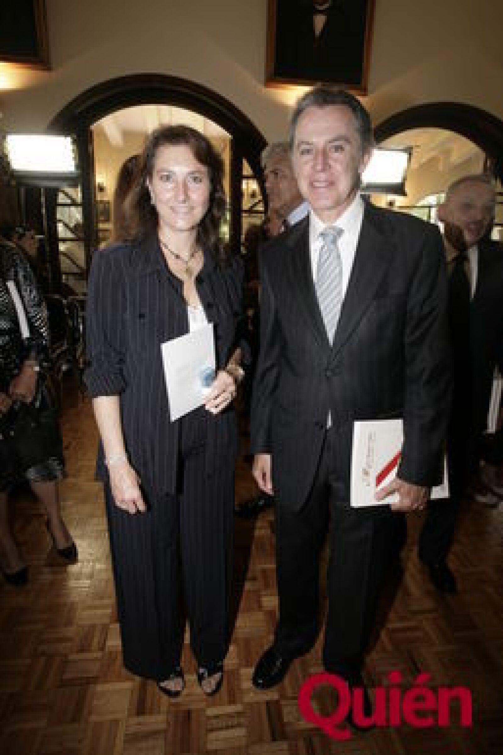 Claudia Alemán, Jorge Galindo
