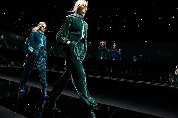 Emporio Armani show, Runway, Fall Winter 2020, Milan Fashion Week, Italy - 21 Feb 2020