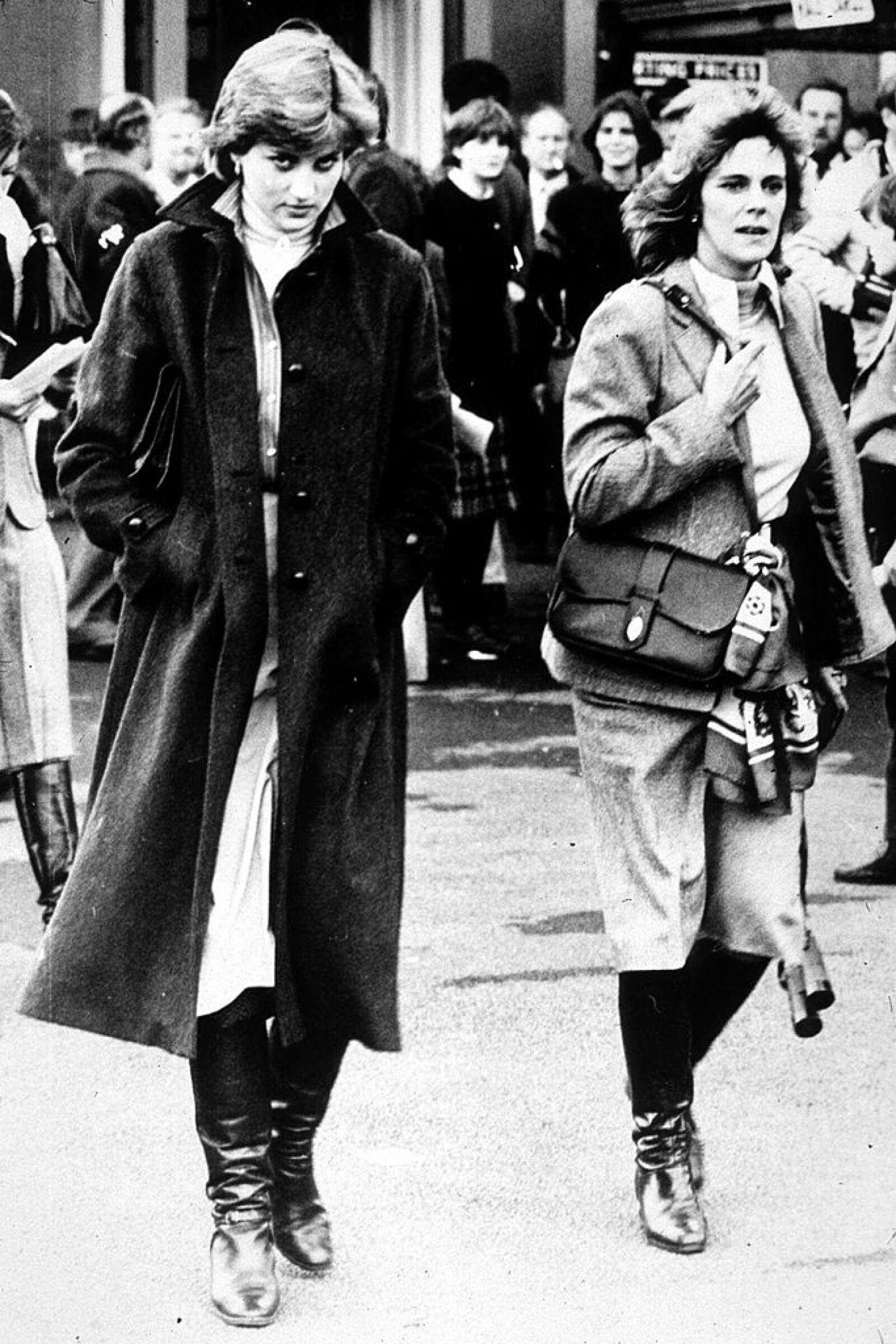 Diana & Camilla At Ludlow Races