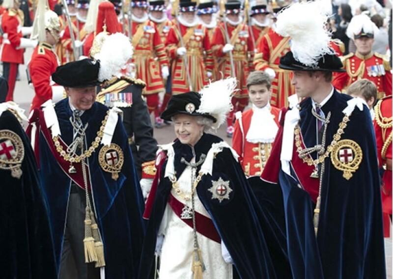La Orden de Garter de Reino Unido es una de las más antiguas y más importantes.