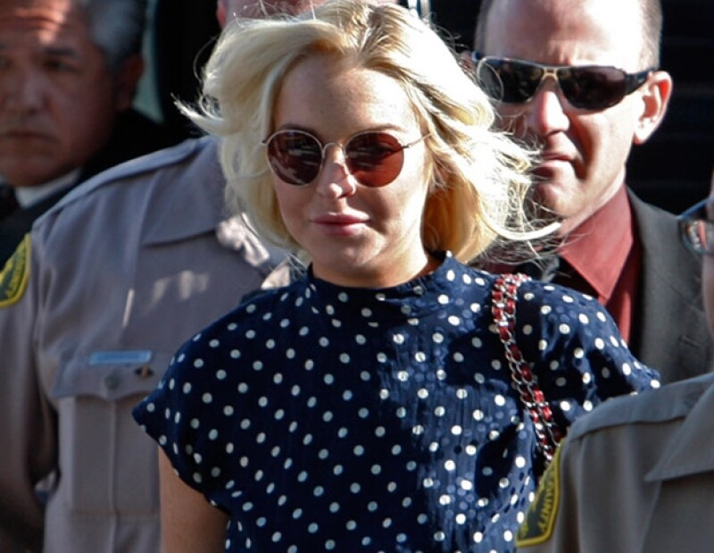 Lindsay pisará la cárcel.