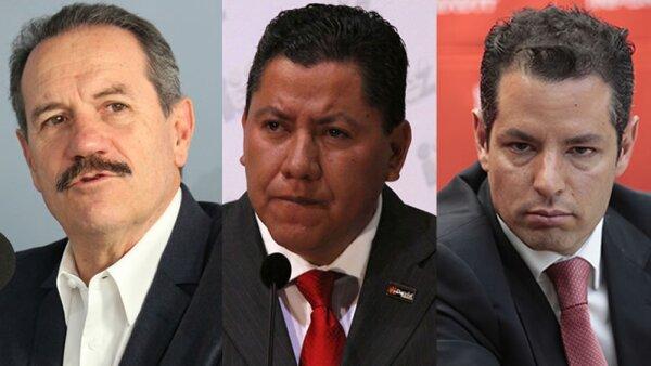 Juan Bueno, David Monreal y Alejandro Murat, los tres políticos que más riqueza tienen.