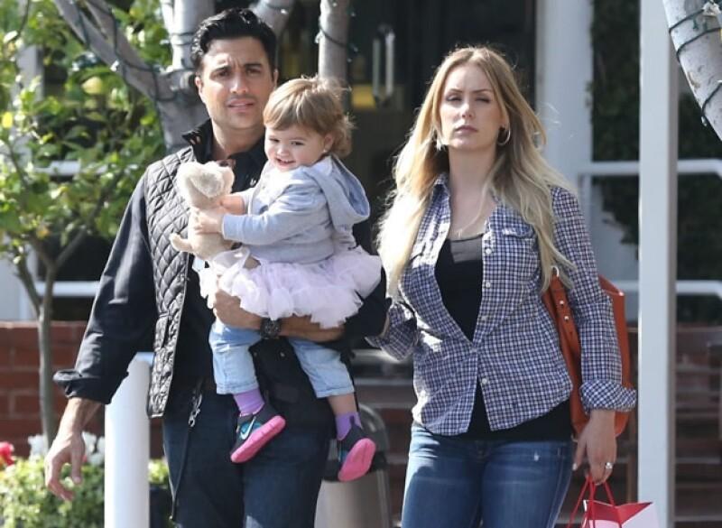 Jaime, Elena y Heidi paseando por West Hollywood.