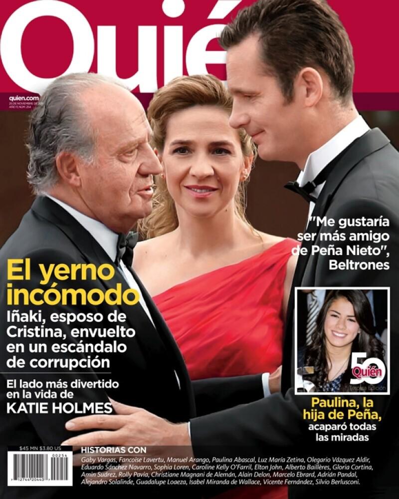 En su nueva edición, la revista Quién publica un interesante reportaje sobre el escándalo que sacude a la Casa Real de España, en específico a Iñaki, esposo de la Infanta Cristina.