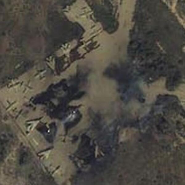 Libia - Misrata - vista aérea