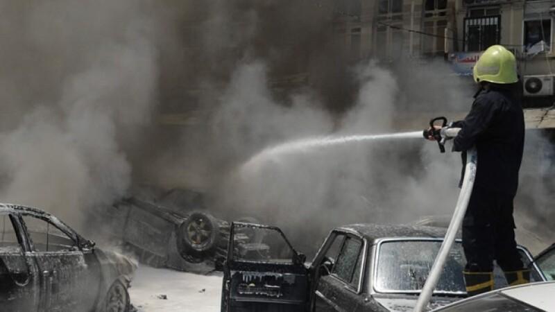 Explosiones cerca del Palacio de Justicia